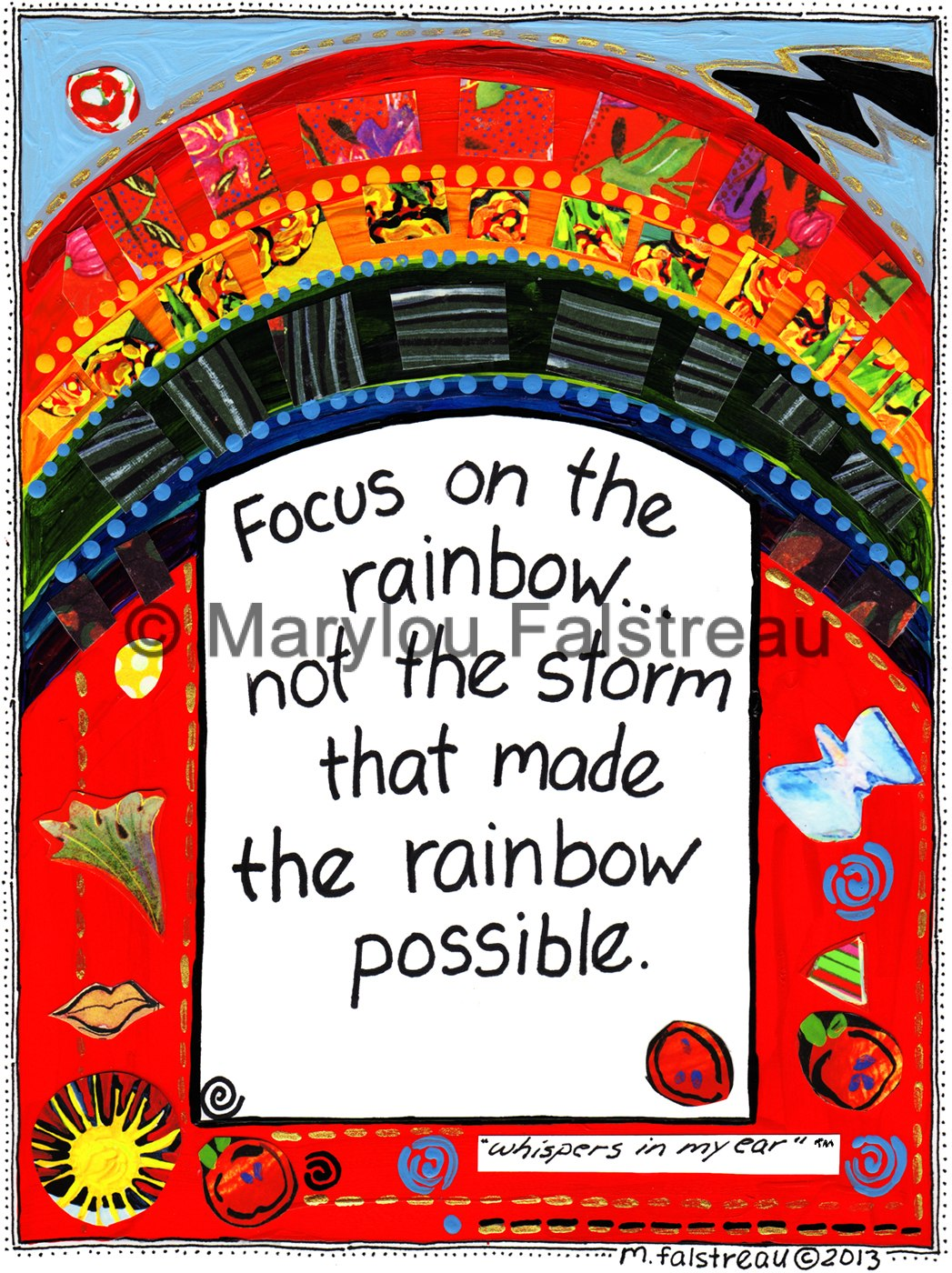 Focus On The Rainbow